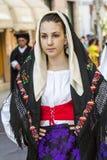塞拉尔朱斯,意大利- 2016年9月11日:老婚姻的Selargino -撒丁岛 图库摄影