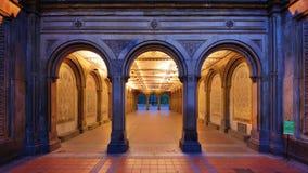 贝塞斯达大阳台地下过道 免版税图库摄影