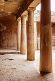塞浦路斯国王paphos坟茔 免版税库存图片