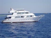 塞浦路斯小船 免版税库存图片