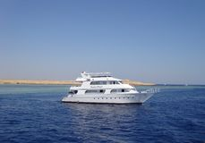 塞浦路斯小船 库存图片
