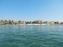 塞浦路斯拉纳卡旅行 库存照片
