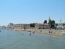 塞浦路斯拉纳卡旅行 免版税库存图片