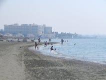 塞浦路斯拉纳卡旅行 免版税图库摄影