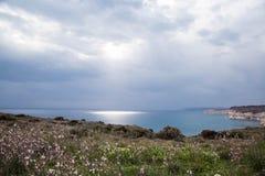 塞浦路斯旅行自然看见天空 免版税库存图片