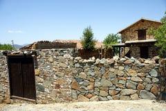 塞浦路斯村庄 库存图片