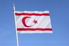 塞浦路斯标志北共和国土耳其 免版税库存照片