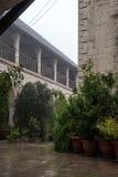 塞浦路斯正统修道院 免版税库存照片
