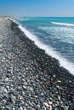 塞浦路斯的南部的海岸 免版税库存图片