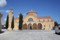 塞浦路斯的房子 免版税库存图片