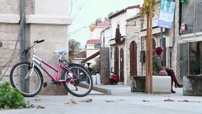塞浦路斯的老镇 利马索尔 股票录像