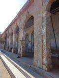 塞浦路斯的建筑学-老大厦 库存图片
