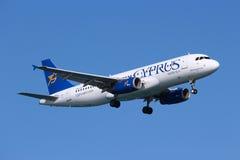 塞浦路斯航空 免版税库存图片