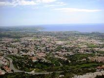 塞浦路斯视图 免版税库存图片