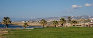 塞浦路斯视图 库存图片