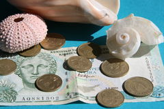 塞浦路斯货币 库存图片