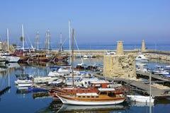塞浦路斯,凯里尼亚 免版税库存图片