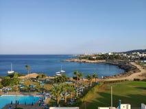 塞浦路斯,地中海 免版税图库摄影