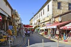 塞浦路斯,尼科西亚 免版税图库摄影