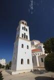 塞浦路斯,帕福斯的东正教圣玛丽Pantanasa 库存图片