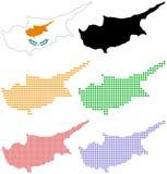 塞浦路斯 皇族释放例证