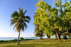 塞班岛美丽的海岛  库存图片