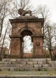 塞瓦斯托波尔纪念碑 免版税库存图片