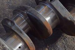 活塞的轨引擎的 免版税库存照片