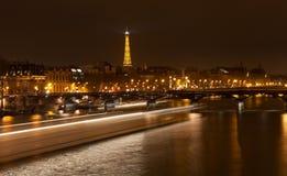 Pont des Arts在巴黎 免版税库存照片