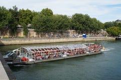 塞纳河在巴黎-法国-欧洲 免版税库存照片
