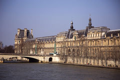 塞纳河,巴黎-法国 免版税库存照片