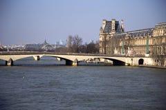 塞纳河,巴黎-法国 库存照片