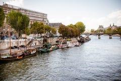 塞纳河巴黎 免版税图库摄影