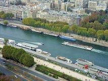 塞纳河巴黎 库存图片