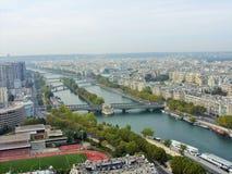 塞纳河巴黎 免版税库存图片