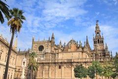 塞维利亚主教座堂,西班牙 库存照片