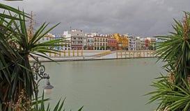 塞维利亚看法在西班牙 图库摄影