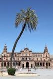 塞维利亚西班牙西班牙语正方形 免版税库存图片
