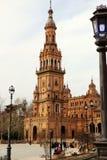 塞维利亚西班牙 西班牙正方形, Plaza de西班牙 免版税库存照片