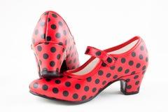塞维利亚鞋子 免版税图库摄影