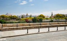 塞维利亚,城市的看法,安大路西亚,西班牙 免版税库存照片