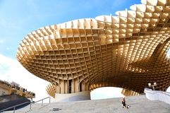 塞维利亚,西班牙的历史建筑和纪念碑 教育机构de塞维利亚 图库摄影