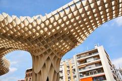 塞维利亚,西班牙的历史建筑和纪念碑 教育机构de塞维利亚 免版税库存图片