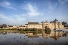 塞维利亚, Cartuja de圣诞老人玛拉de las奎瓦斯的皇家修道院 免版税库存图片