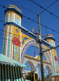 塞维利亚4月节日2008年,五颜六色的安达卢西亚 免版税库存照片