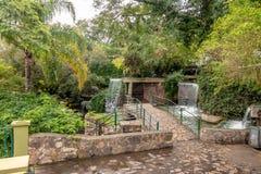 塞罗圣伯纳德小山瀑布喷泉-萨尔塔,阿根廷 库存图片