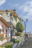塞罗圣安娜瓜亚基尔厄瓜多尔 免版税库存照片