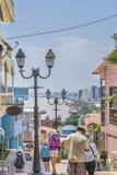 塞罗圣安娜瓜亚基尔厄瓜多尔 库存照片