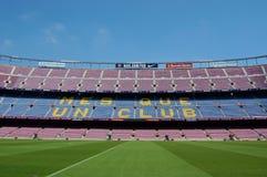 巴塞罗那体育场 库存图片