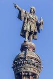 巴塞罗那哥伦布纪念碑 库存图片